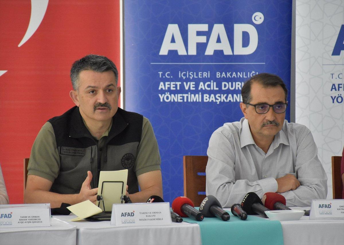 Bekir Pakdemirli: Antalya ve Muğla'da av yasağı kararı aldık #1