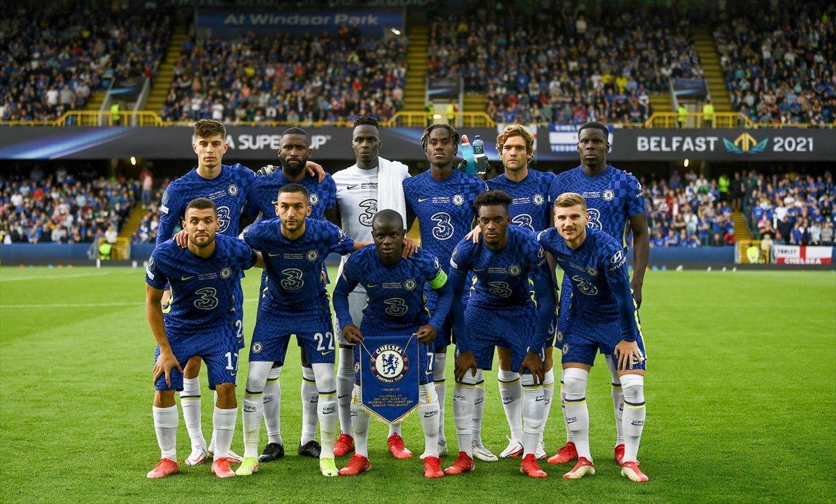 UEFA Süper Kupa sını Villarreal i penaltılarla yenen Chelsea kazandı #3