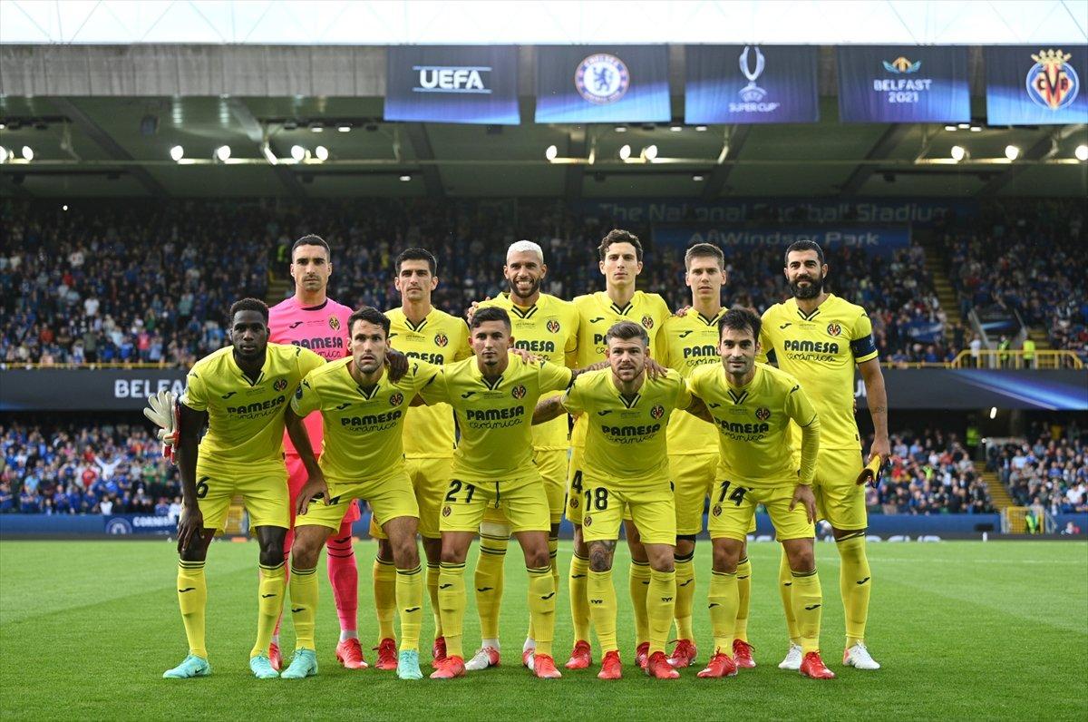 UEFA Süper Kupa sını Villarreal i penaltılarla yenen Chelsea kazandı #2