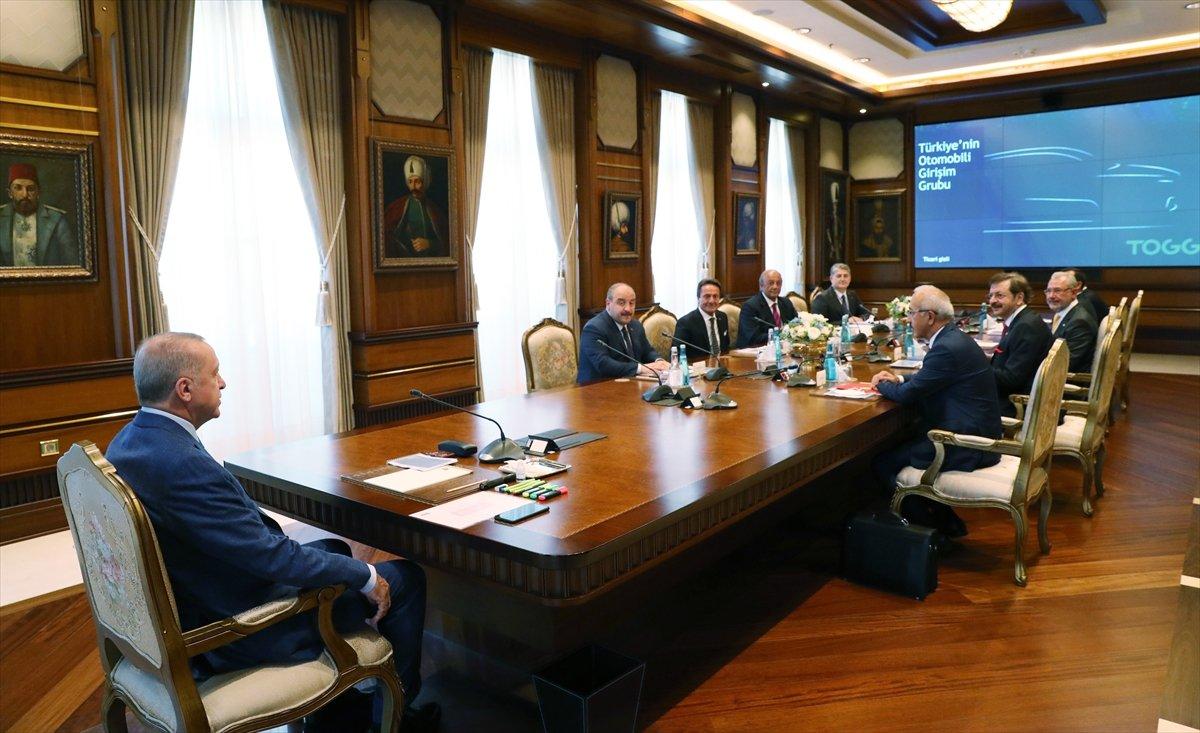 Cumhurbaşkanı Erdoğan, TOGG heyetiyle görüştü #2