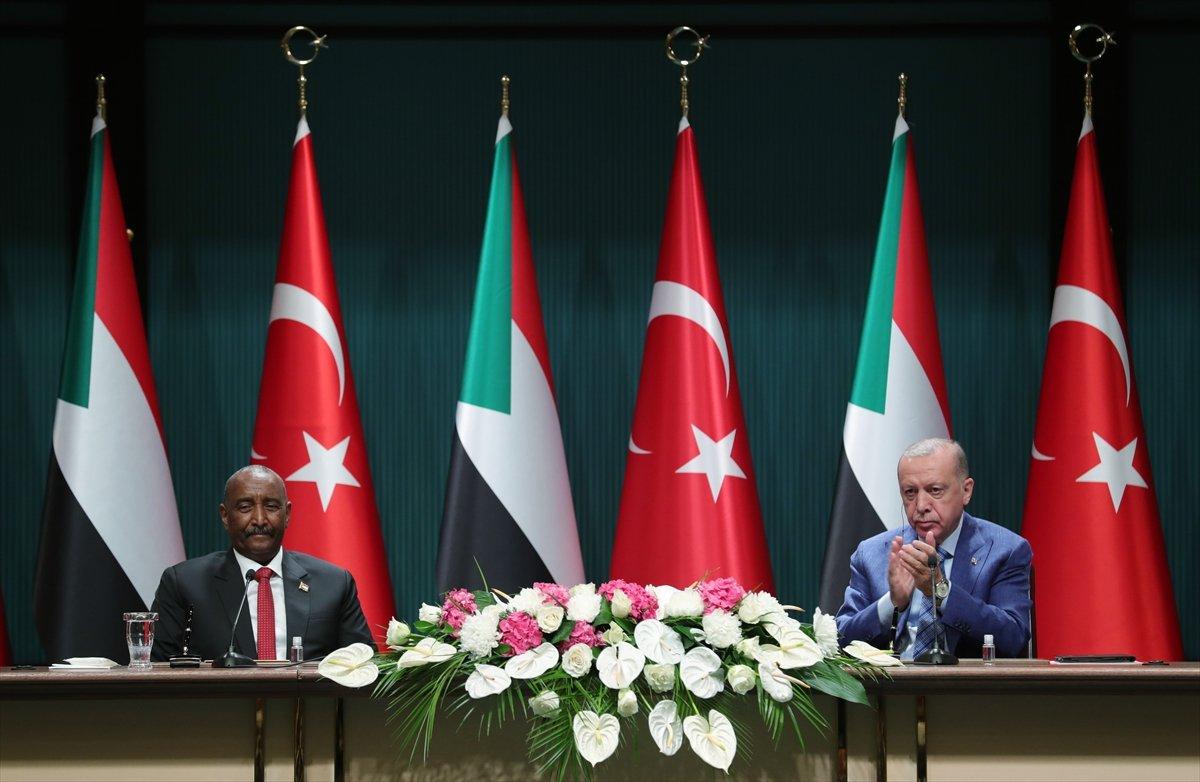 Cumhurbaşkanı Erdoğan dan Sudan Devlet Başkanı ile ortak açıklama #7