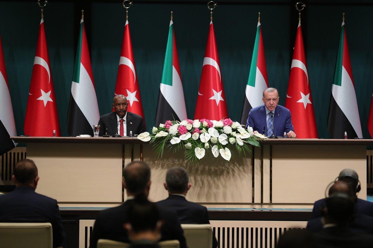 Cumhurbaşkanı Erdoğan dan Sudan Devlet Başkanı ile ortak açıklama #3