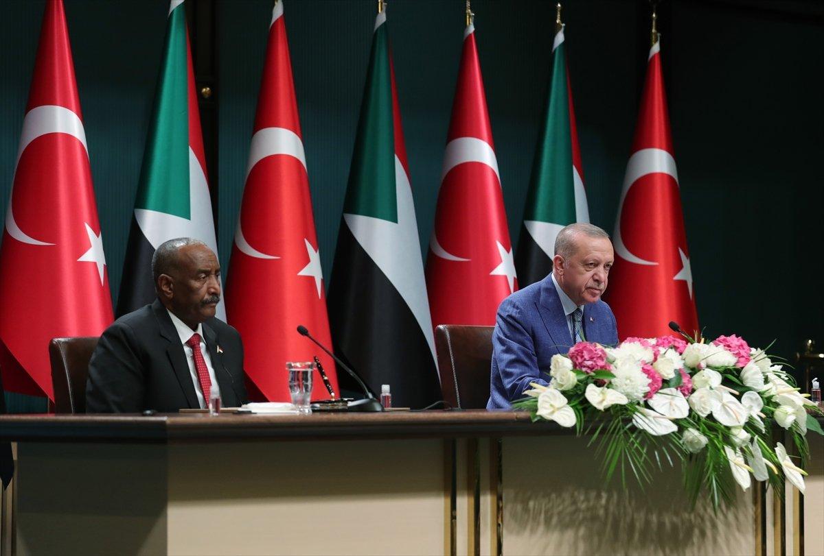 Cumhurbaşkanı Erdoğan dan Sudan Devlet Başkanı ile ortak açıklama #4