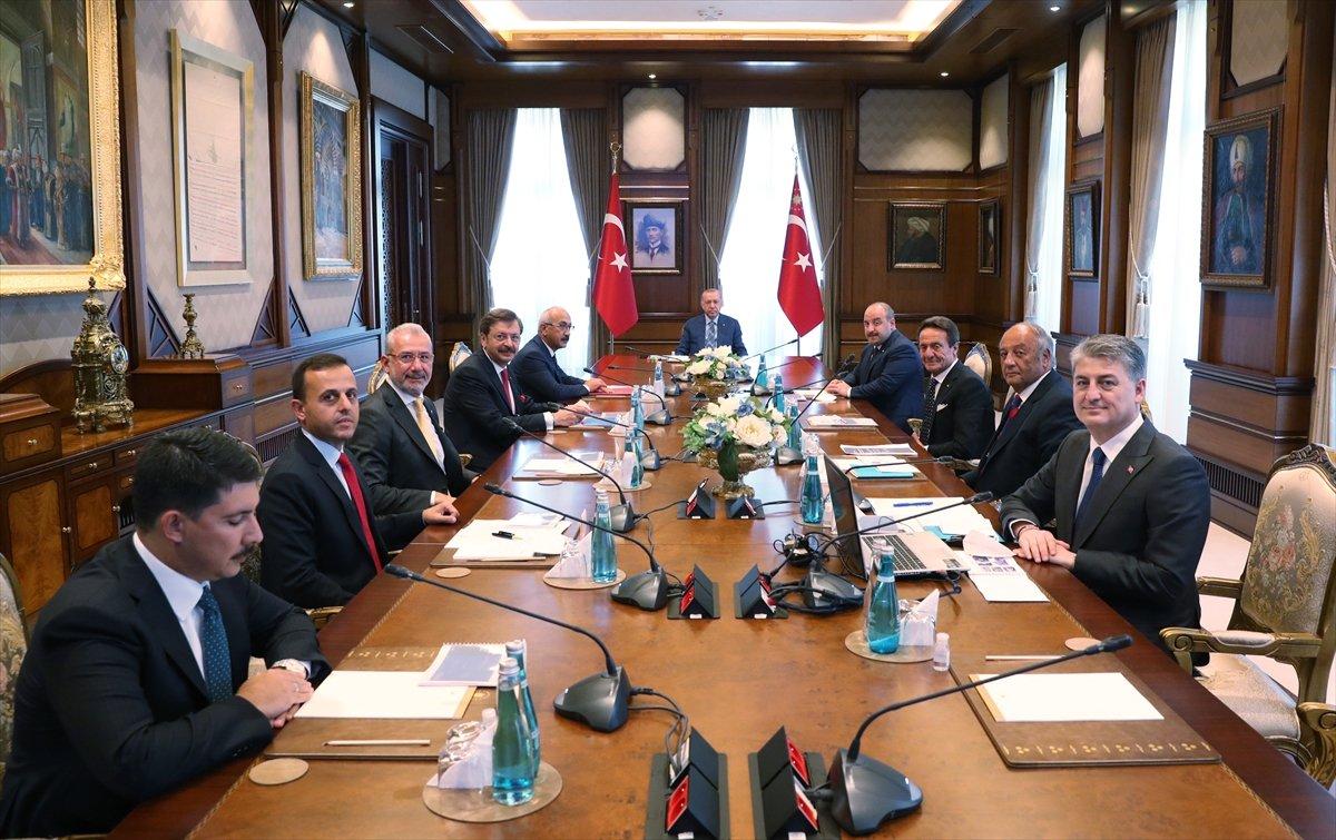 Cumhurbaşkanı Erdoğan, TOGG heyetiyle görüştü #3