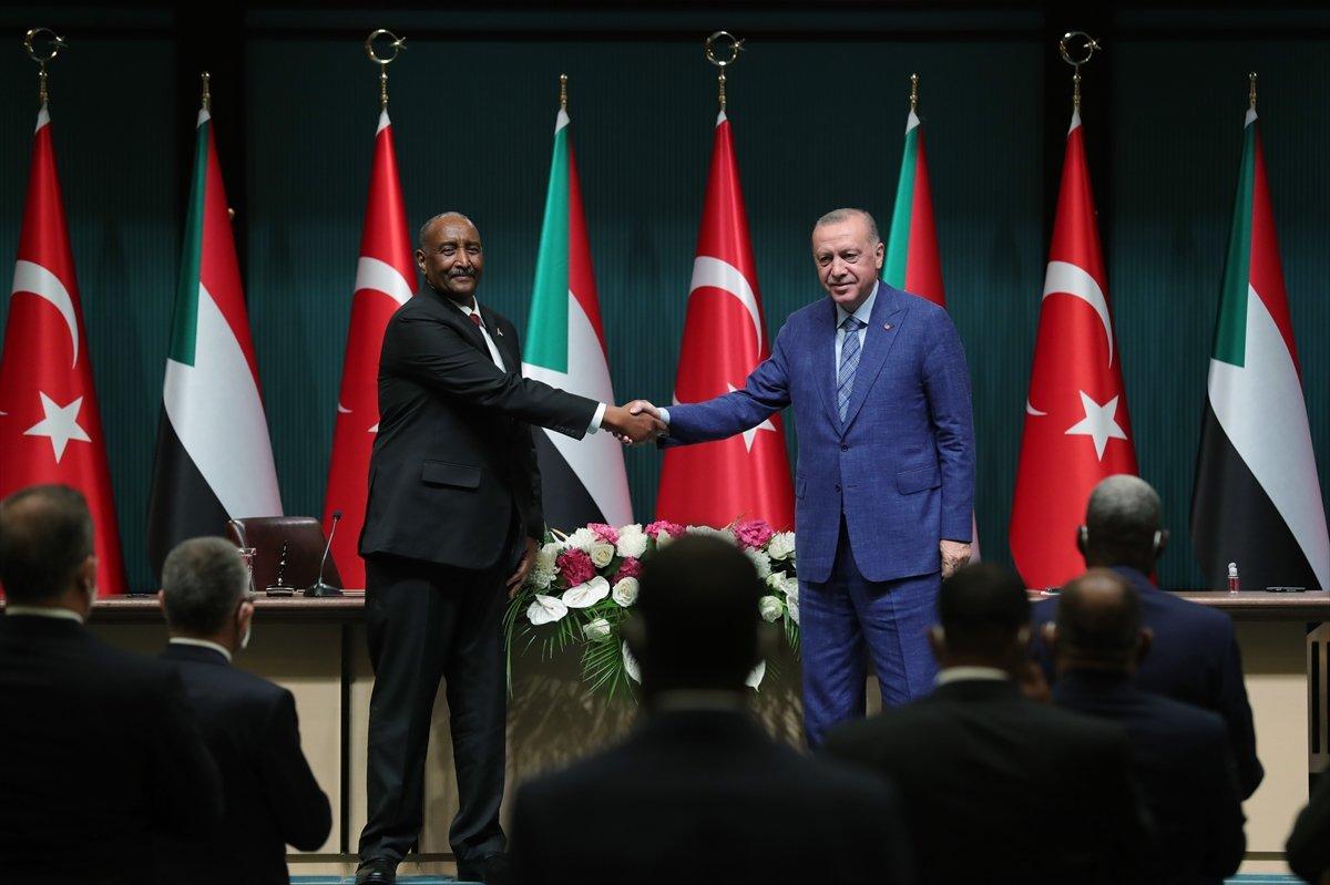 Cumhurbaşkanı Erdoğan dan Sudan Devlet Başkanı ile ortak açıklama #2