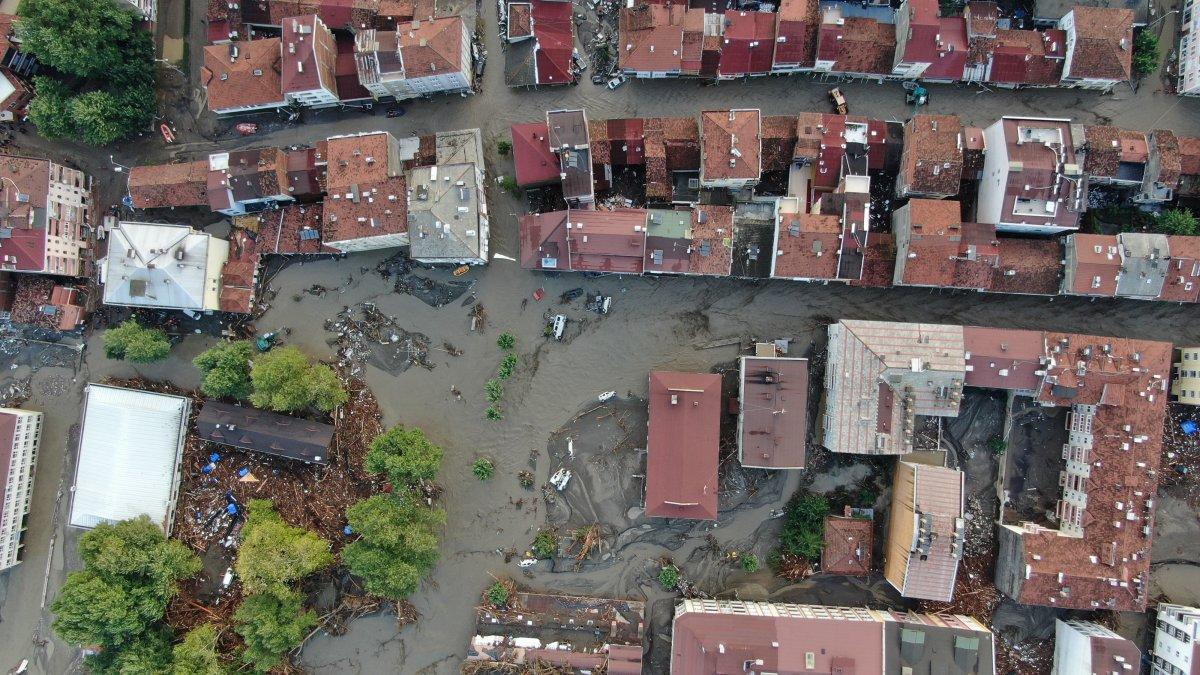 Kastamonu da sel felaketinden geriye kalanlar #13