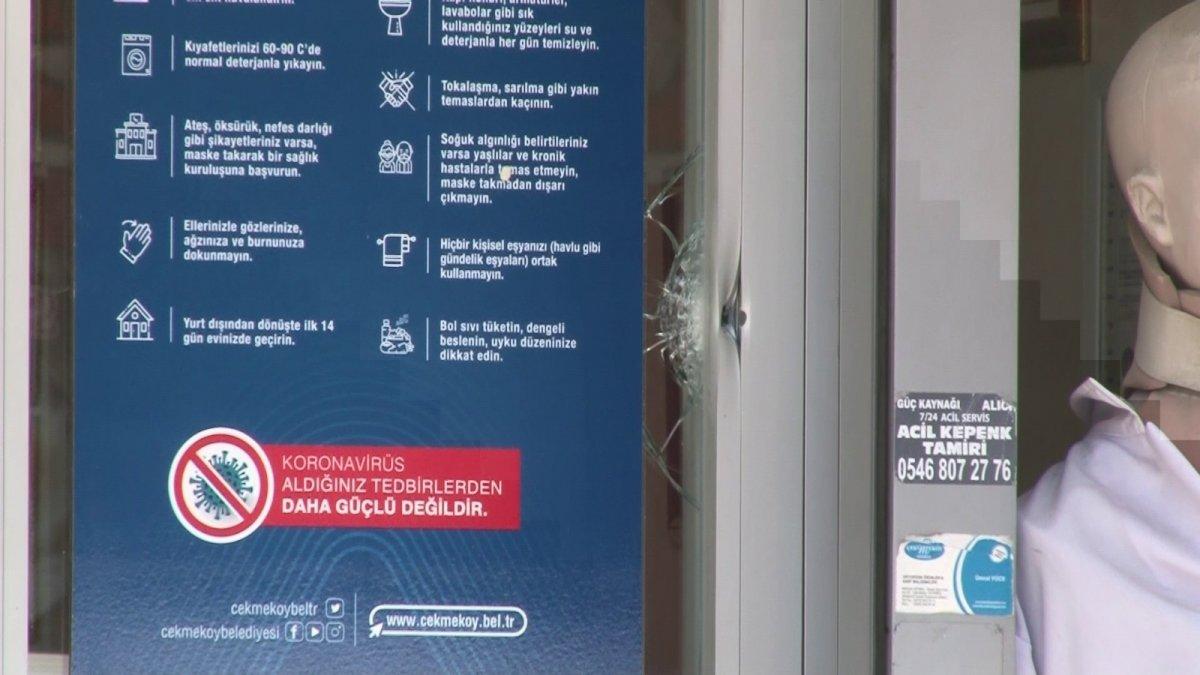 Çekmeköy'de silahlı kavga: 1 yaralı  #2