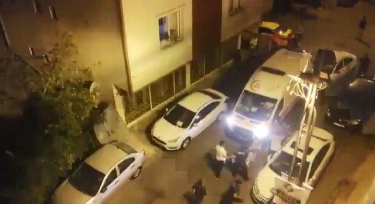 Çekmeköy'de silahlı kavga: 1 yaralı  #1