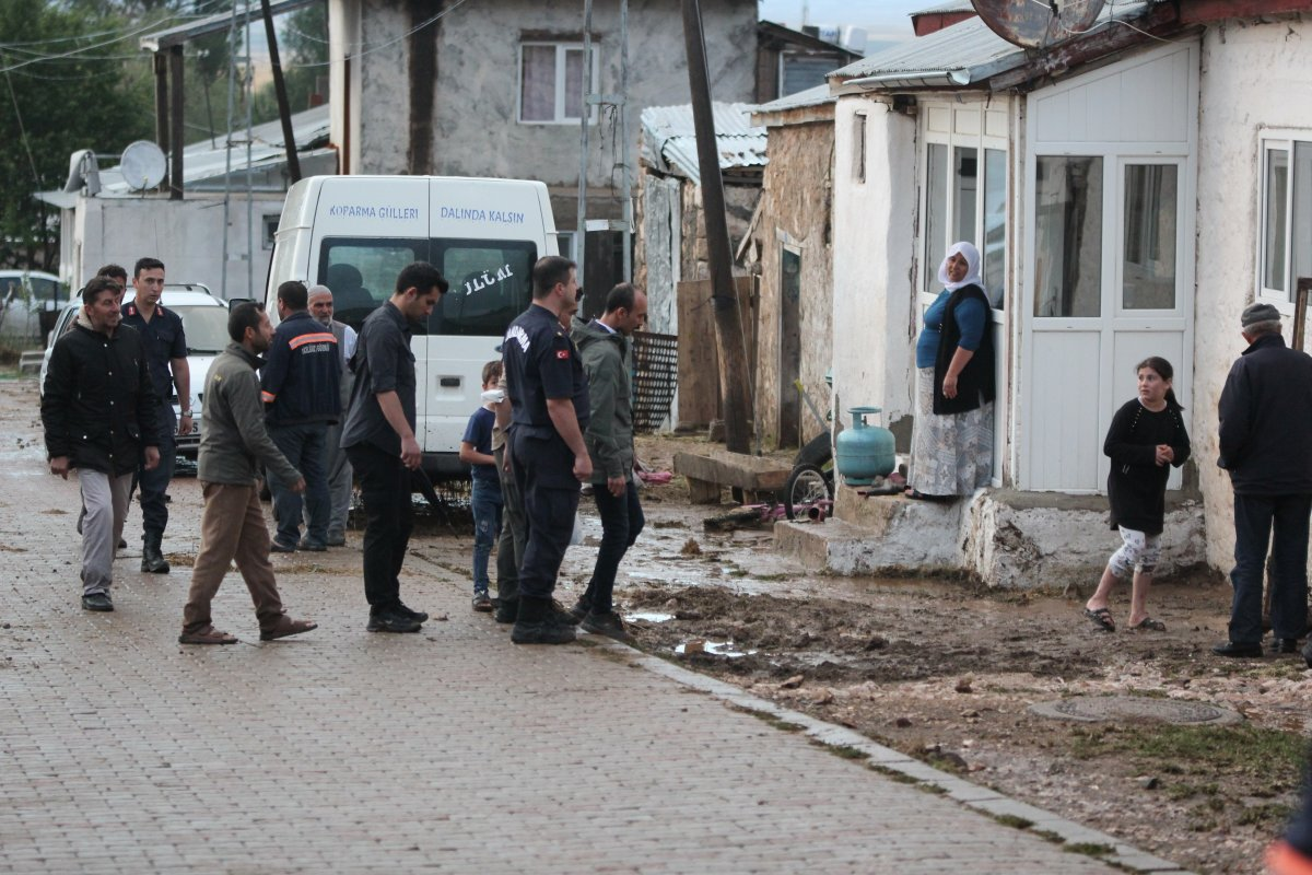 Kayseri'de 50 haneli mahalleyi sel bastı #3