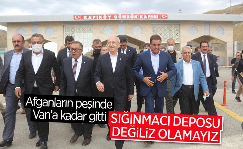 Kemal Kılıçdaroğlu'ndan Kapıköy Sınır Kapısı'na ziyaret
