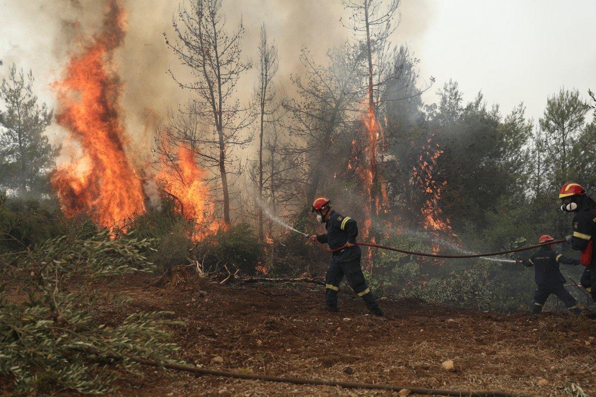 Kiryakos Miçotakis: Yangın riski devam ediyor #1