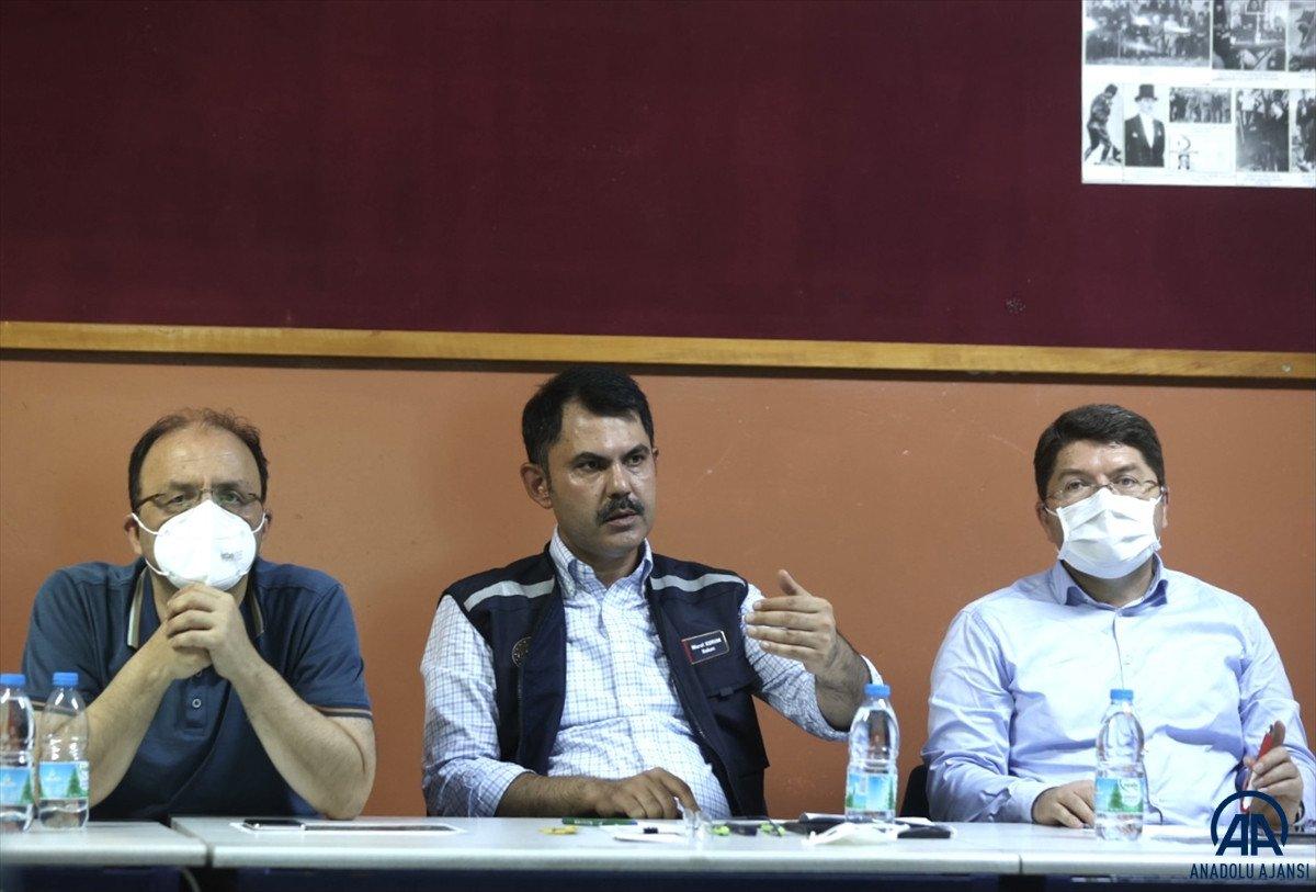 Bakan Kurum: En kısa zamanda selzede vatandaşların yaralarını saracağız #1