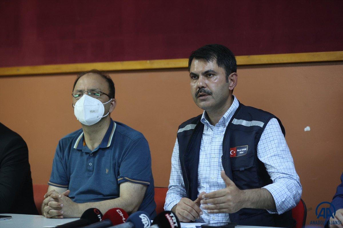 Bakan Kurum: En kısa zamanda selzede vatandaşların yaralarını saracağız #2
