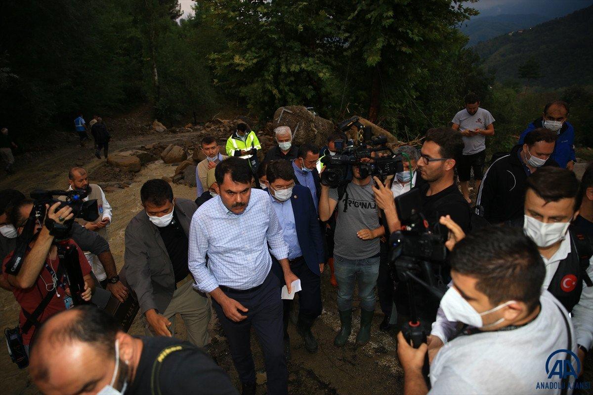 Bakan Kurum: En kısa zamanda selzede vatandaşların yaralarını saracağız #5