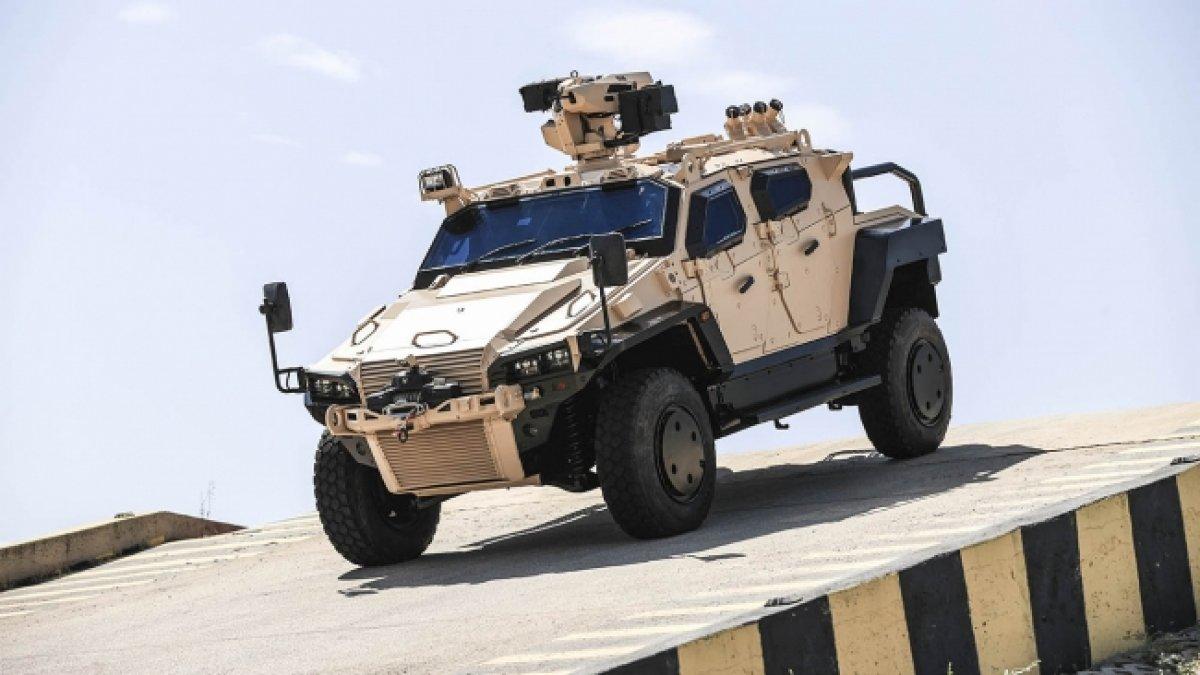 Türk zırhlısı Yörük 4x4ün pikap versiyonu geliyor