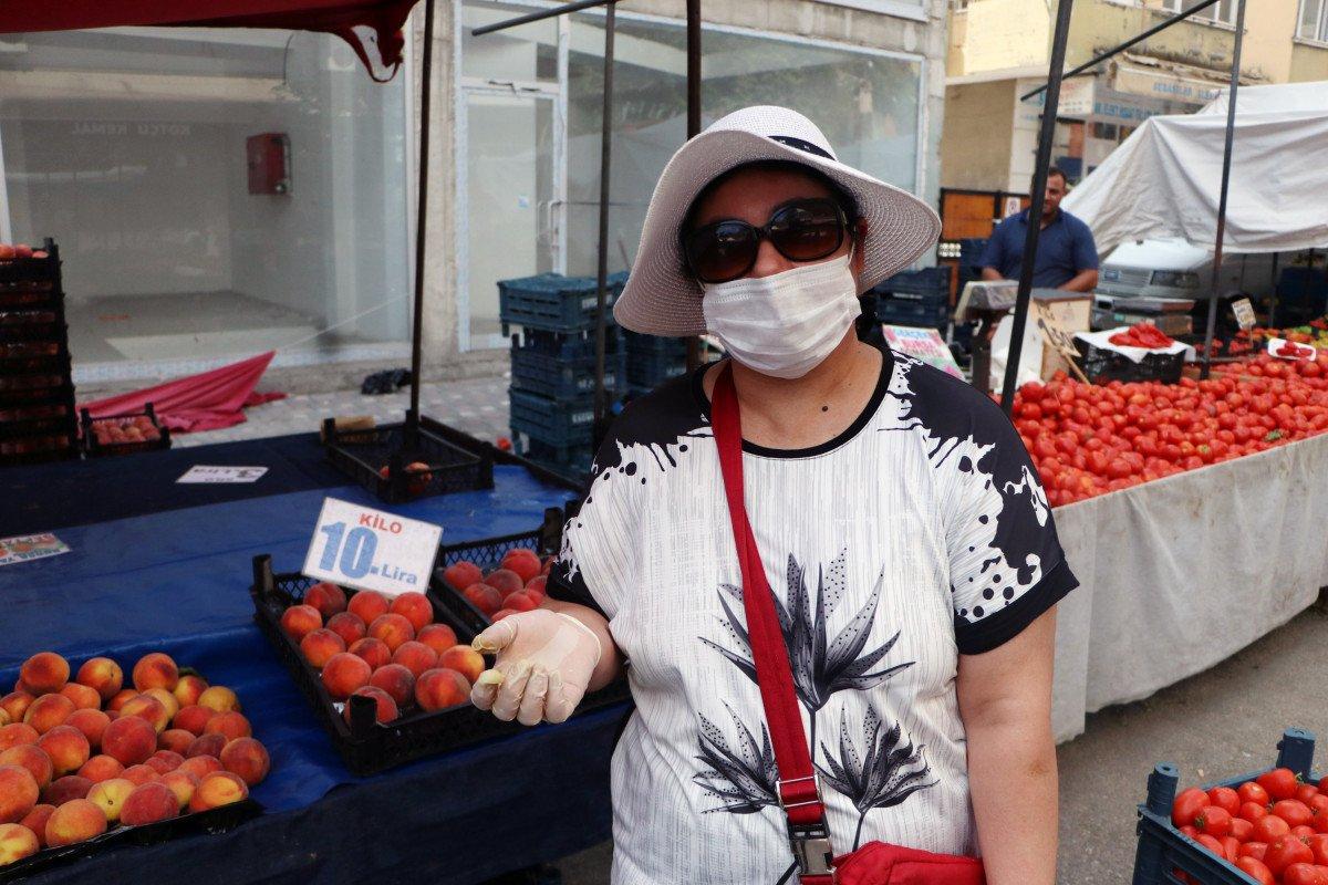 Şeftali ve nektarin bahçede 6 markette 18 lira #4