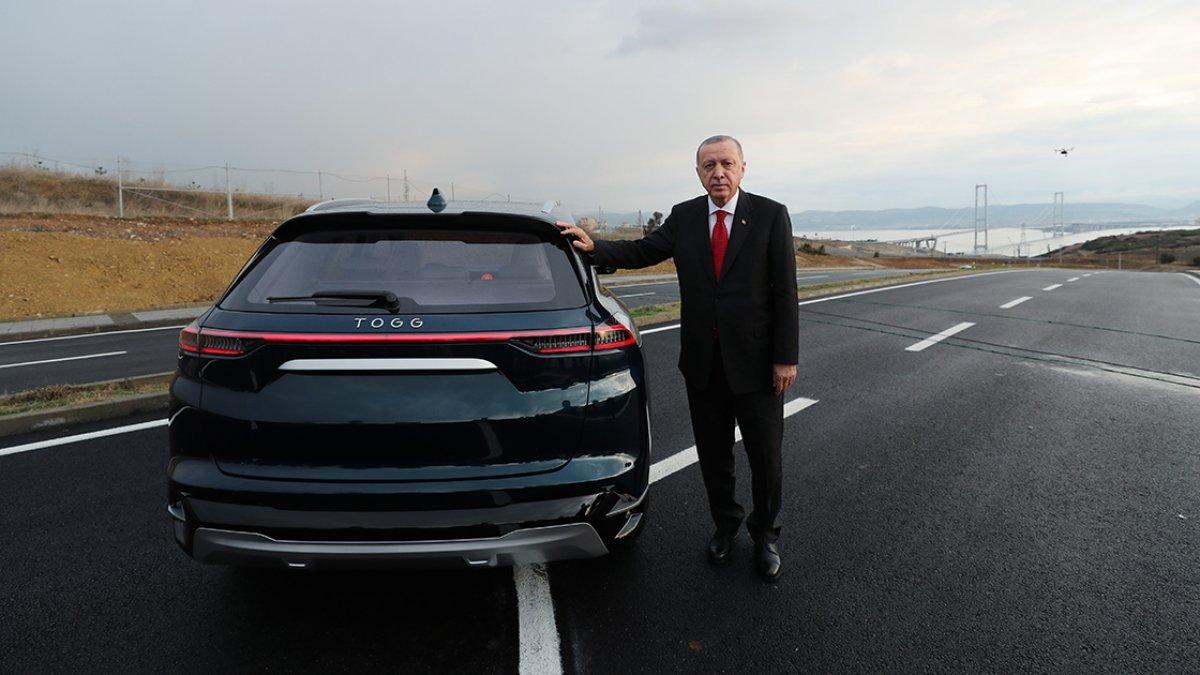 Cumhurbaşkanı Erdoğan, TOGG heyetiyle görüştü #6