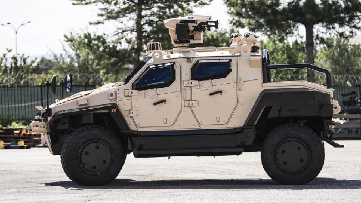 Türk zırhlısı Yörük 4x4 ün pikap versiyonu geliyor #4