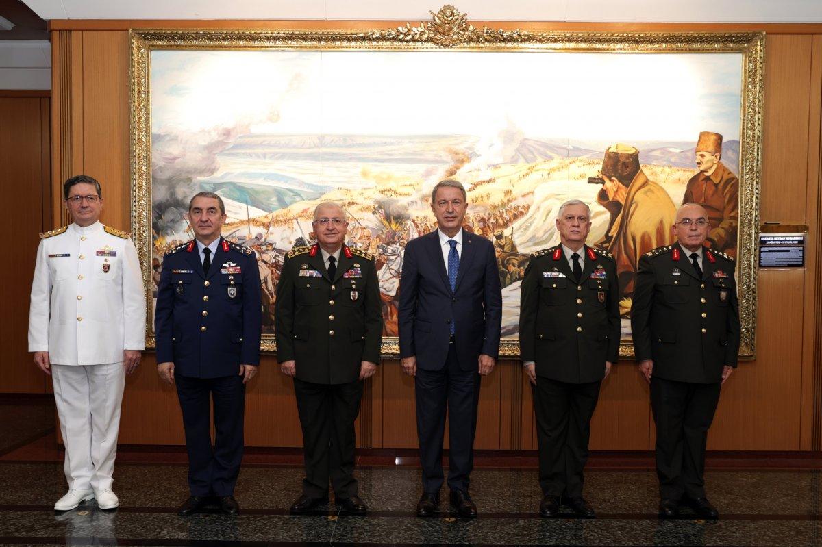 Kara Kuvvetleri Komutanlığı nda devir teslim töreni #4