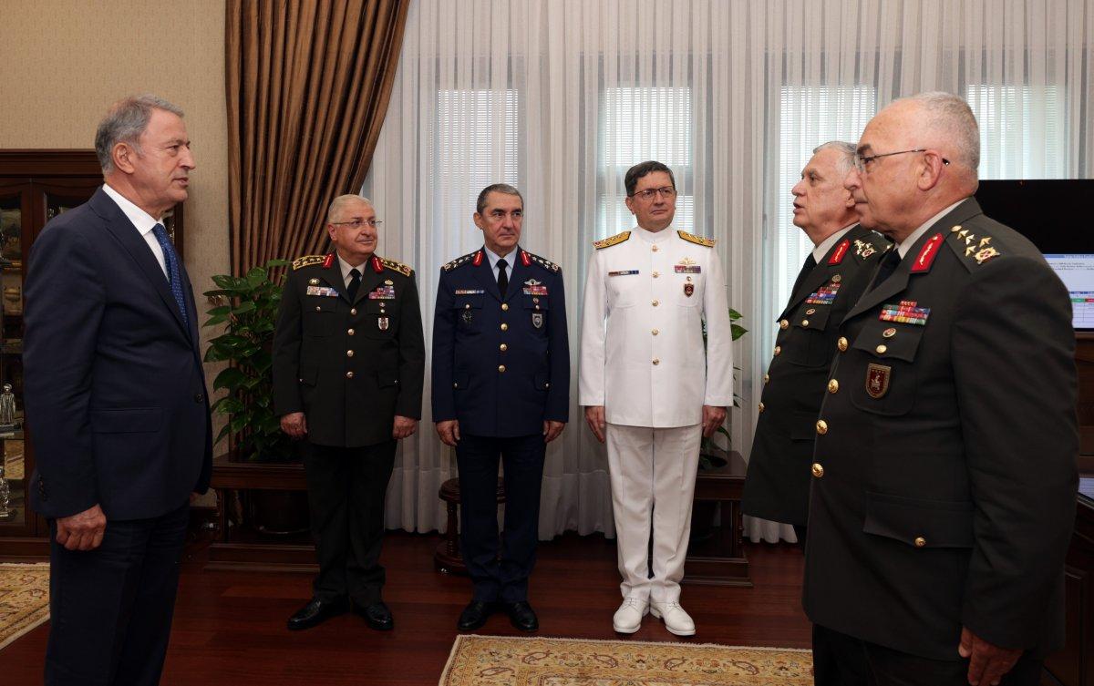 Kara Kuvvetleri Komutanlığı nda devir teslim töreni #2