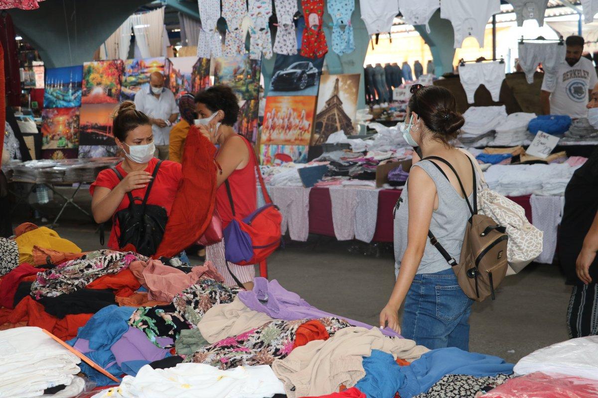 Edirne de Bulgar turistler Ulus Pazarı na akın etti #2