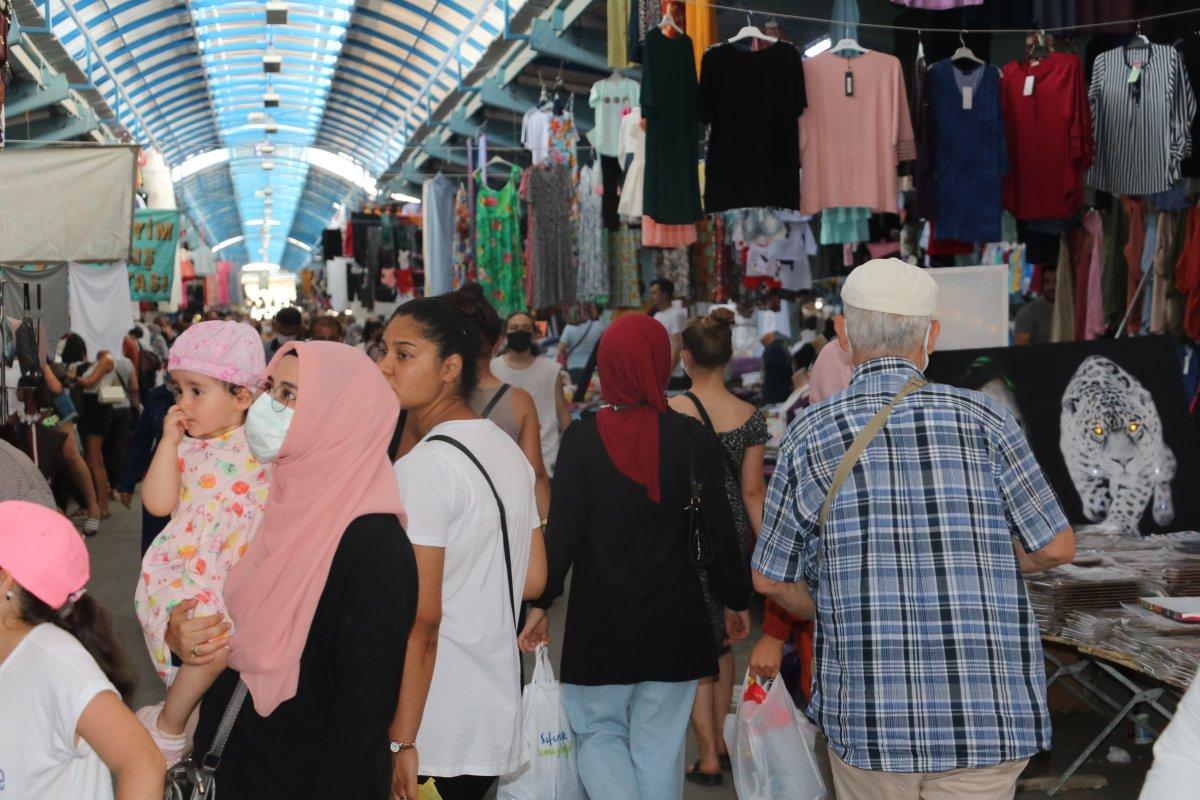 Edirne de Bulgar turistler Ulus Pazarı na akın etti #4