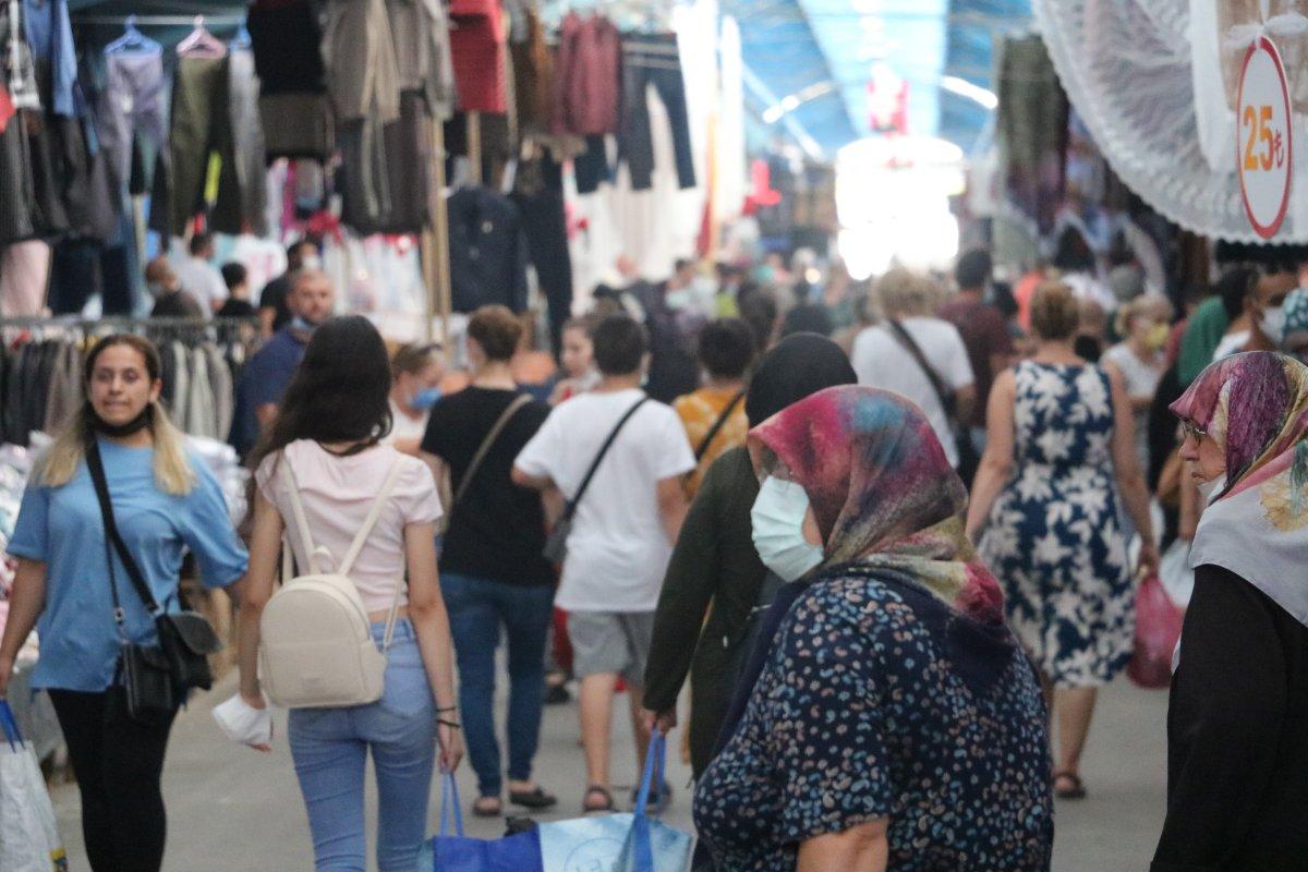 Edirne de Bulgar turistler Ulus Pazarı na akın etti #1