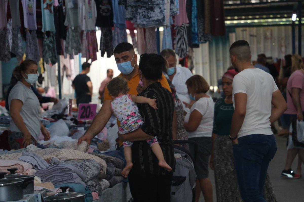 Edirne de Bulgar turistler Ulus Pazarı na akın etti #3