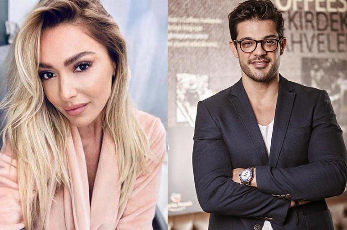 Hadise ve Mehmet Dinçerler el ele  #2