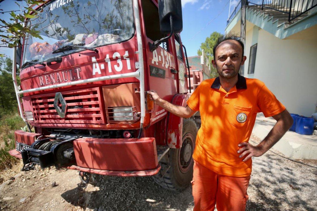 Manavgat ta canlarını hiçe sayarak alevlerin arasına giren orman işçileri: Ölümü hissettik #2