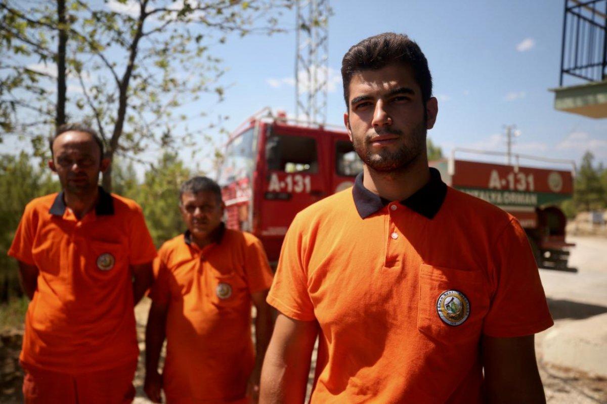 Manavgat ta canlarını hiçe sayarak alevlerin arasına giren orman işçileri: Ölümü hissettik #3