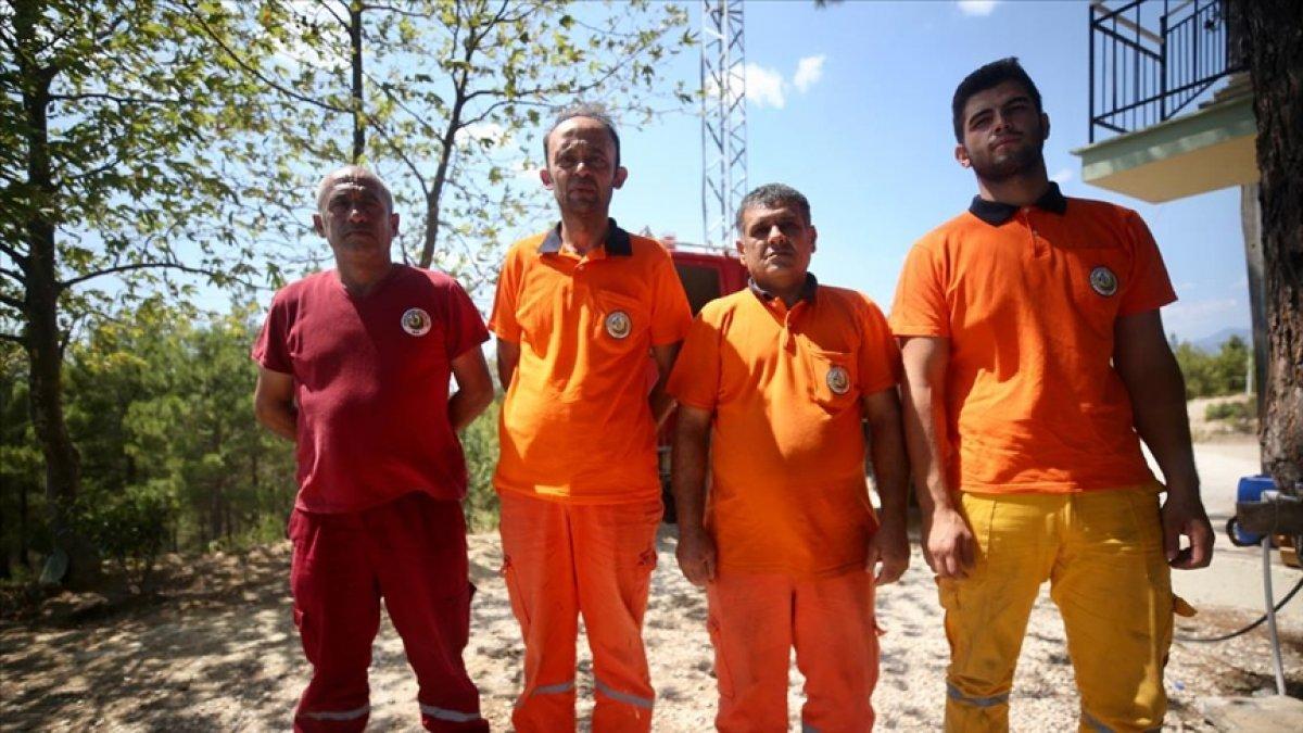Manavgat ta canlarını hiçe sayarak alevlerin arasına giren orman işçileri: Ölümü hissettik #1
