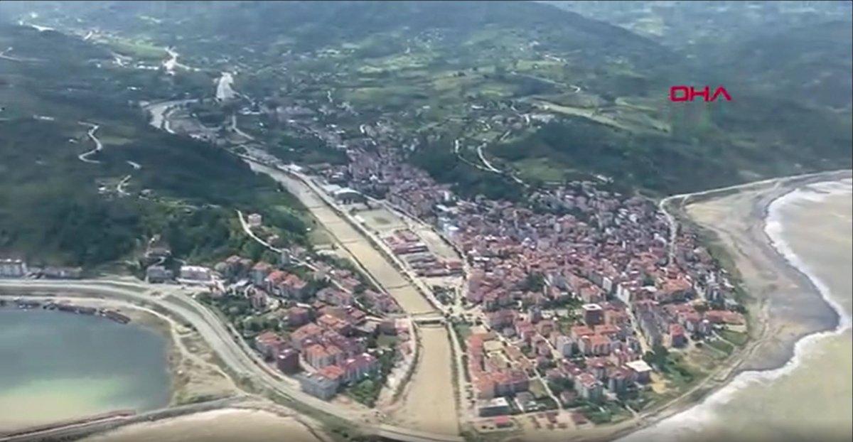 Sinop'ta, sel bölgesi havadan görüntülendi  #3