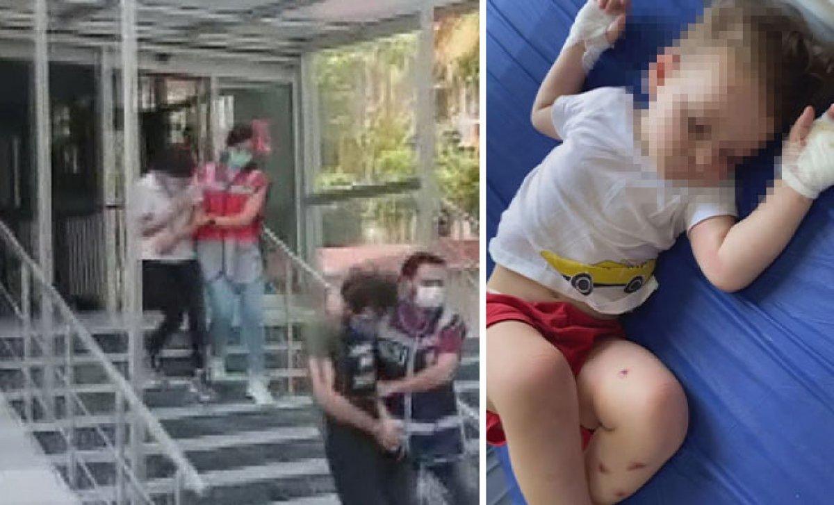 İstanbul da 2 yaşında çocuğa işkencenin detayları ortaya çıktı #4