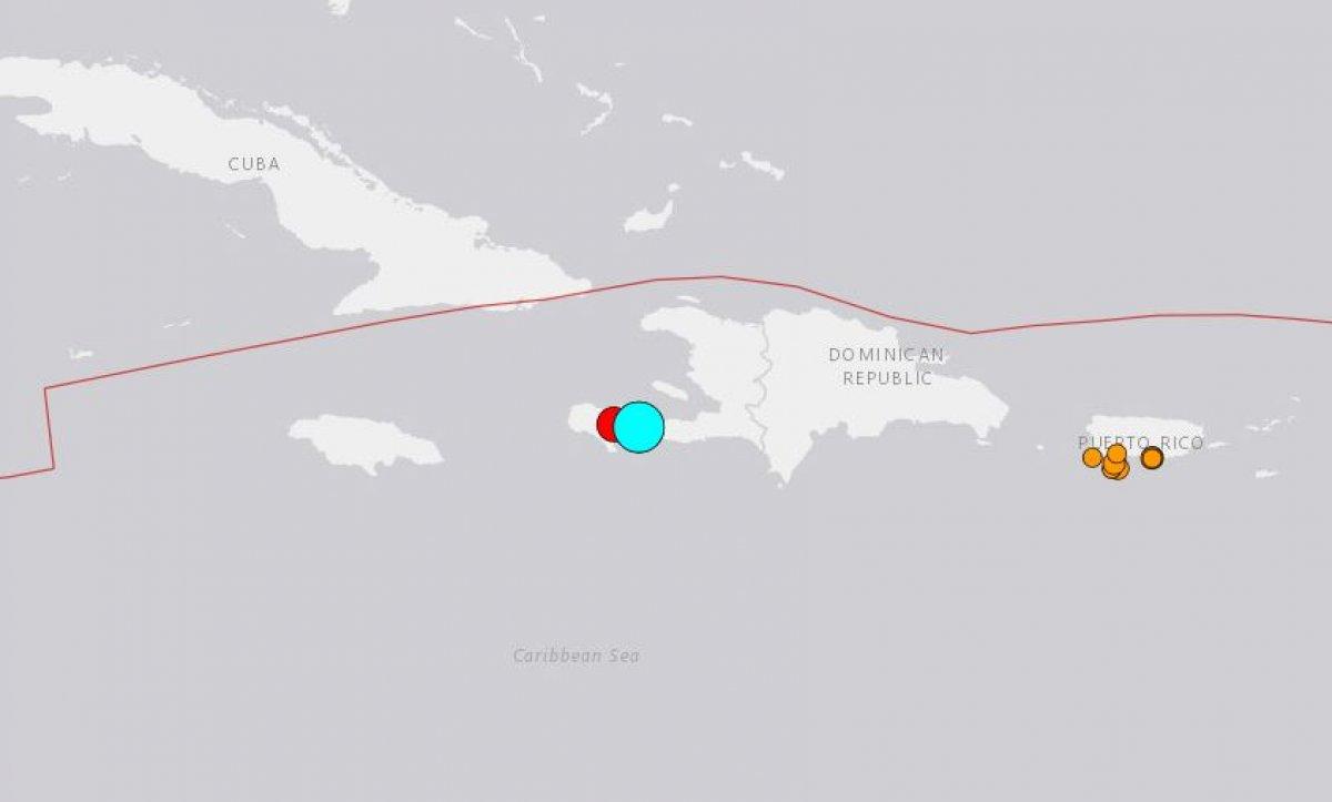 Haiti açıklarında 7,2 büyüklüğünde deprem #5