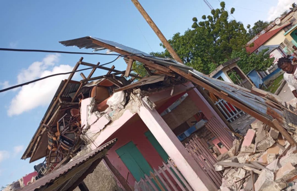 Haiti açıklarında 7,2 büyüklüğünde deprem #2