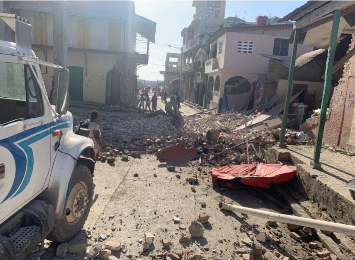 Haiti açıklarında 7,2 büyüklüğünde deprem #1