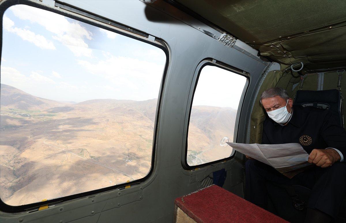 Hulusi Akar ve TSK komuta kademesi İran sınırında #4