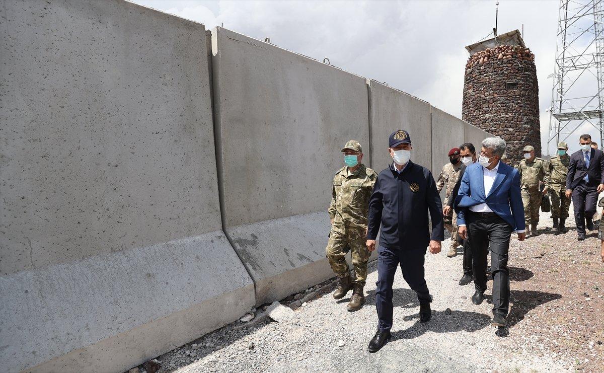 Hulusi Akar ve TSK komuta kademesi İran sınırında #13