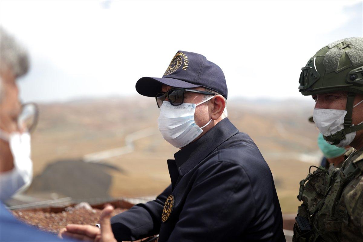 Hulusi Akar ve TSK komuta kademesi İran sınırında #2