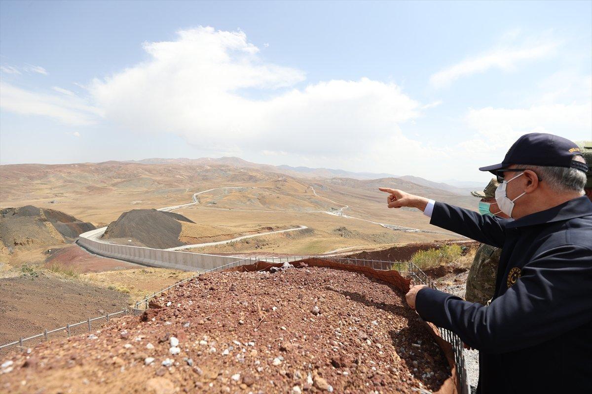 Hulusi Akar ve TSK komuta kademesi İran sınırında #10