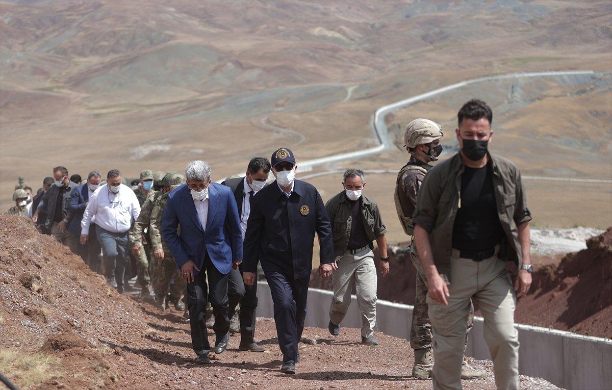 Hulusi Akar ve TSK komuta kademesi İran sınırında #19