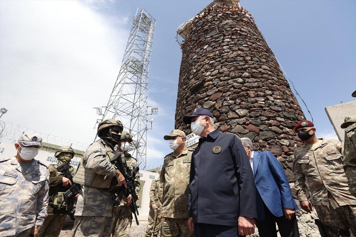 Hulusi Akar ve TSK komuta kademesi İran sınırında #8