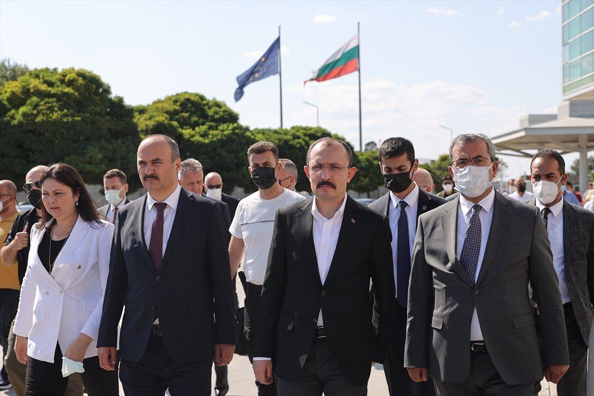 Mehmet Muş, Kapıkule Sınır Kapısı nda inceleme yaptı #1
