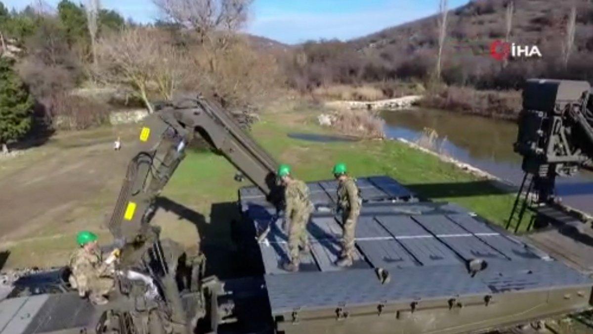 MSB, sel bölgesine 2 yatay kaydırmalı köprü tankı ile 3 sabit köprü aracı gönderdi #1