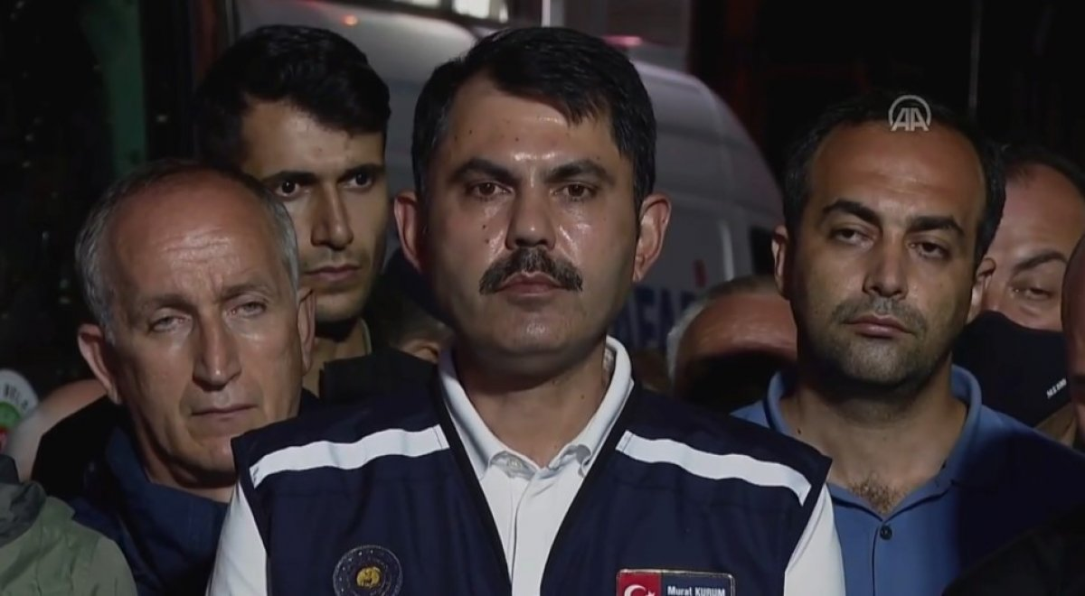 Bakan Murat Kurum: Selden etkilenen 454 bina var #2