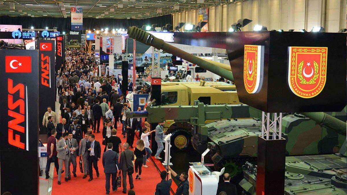 Türk savunma sanayisi IDEF 2021e hazırlanıyor