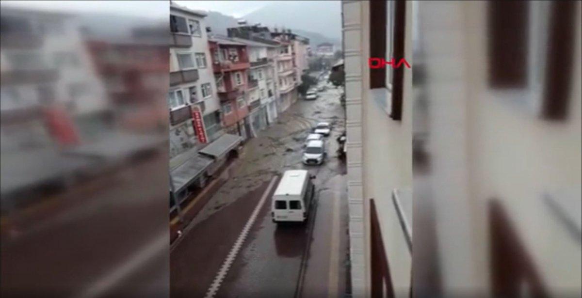 Kastamonu'da, sel felaketinin ilk anları  #2
