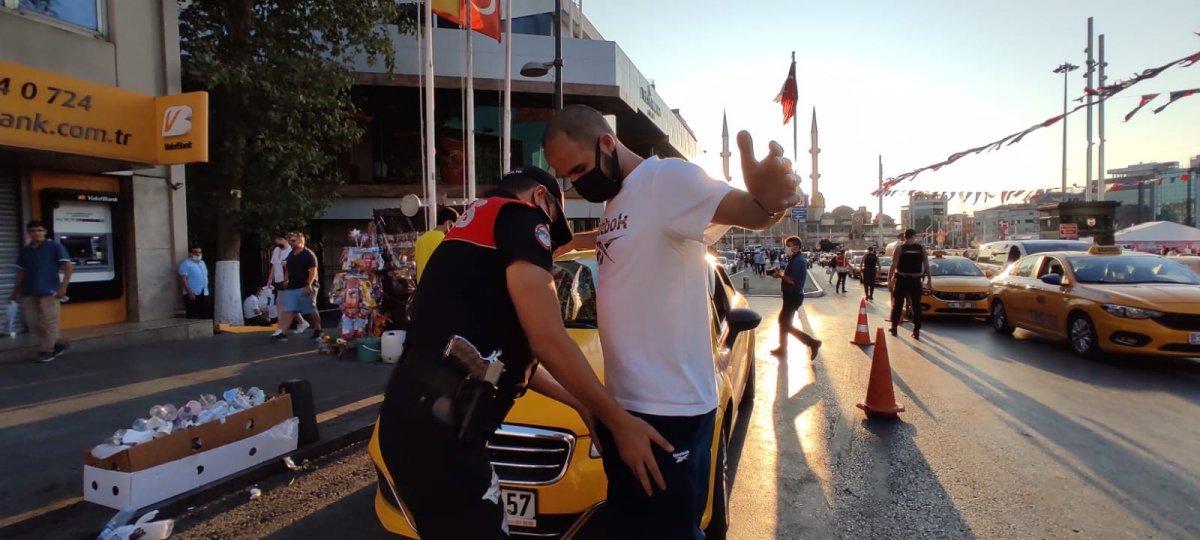 Taksim de asayiş uygulaması yapıldı #2
