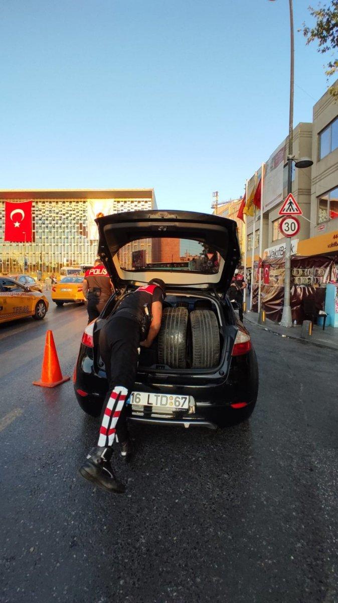 Taksim de asayiş uygulaması yapıldı #5